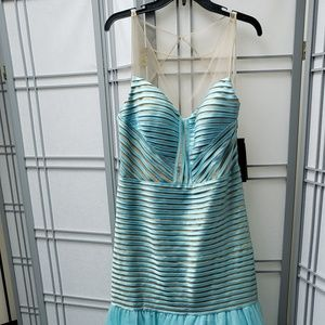 NWT Terany couture trumpet gown Sz16